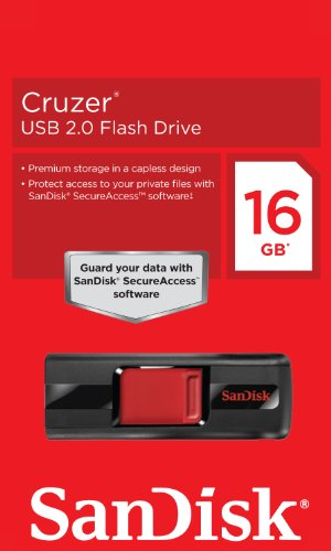 SanDisk Cruzer CZ36 16GB Pen Drive