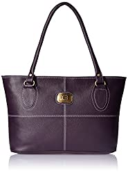 Meridian Women's Handbag Purple (mrb-045-1)
