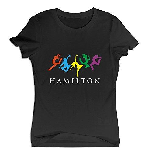 Women's Musicals Hamilton Dancing Tee Shirts Colorsize
