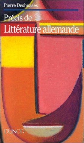 Précis de littérature allemande