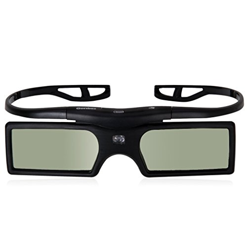 projector - Gonbes 2X 3D Active Shutter Glasses for DLP - Link projector Projector BENQ MP777 MP511 MP626 MP670 MS510 MP612C MP722 MP772ST MP776ST OPTOMA ViewSonic Acer Dell Vivitek Sharp NEC