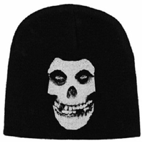 35758cc489a Misfits Logo   Skull Official Beanie Hat by Razamataz at the ...