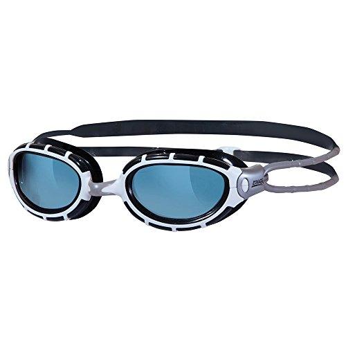 Zoggs Predator - Gafas de natación, color Negro (Smoke/Black/White), talla 6 - 12 años