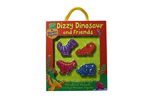 Dizzy Dinosaur and Friends Storybook Figures Set