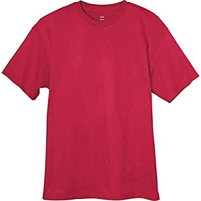 Hanes Adult Tagless® T-Shirt - Deep Red - 3XL