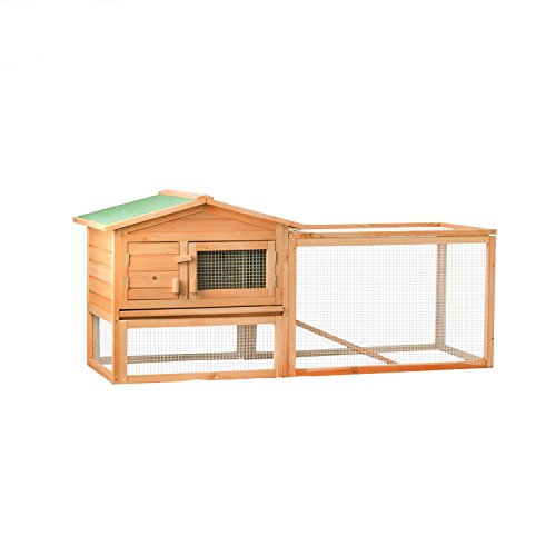ALEKO-Wooden-Pet-House-Poultry-Hutch-Rabbits-Chickens-Hen-Coop-Wooden-Cage