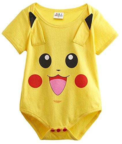 A&J Design Baby Girls' Funny Bodysuit Babygrow