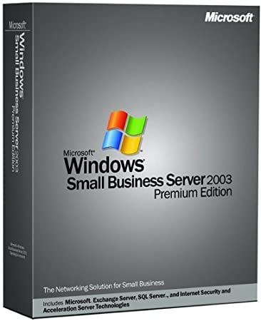 Microsoft Windows Small Business Server Premium 2003 With Service Pack (5 Client)