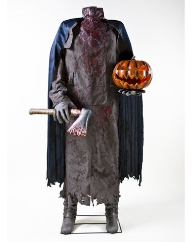 spirit headless horseman illuminated prop multicoloured one size fi