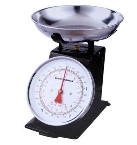 Balance en Acier Inoxydable Rétro Analogue 3kg pour Cuisine Traditionnelle