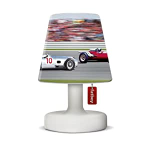 fatboy cooper cappie lamp shades car race. Black Bedroom Furniture Sets. Home Design Ideas
