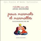 """Afficher """"Pour marmots et marmottes"""""""