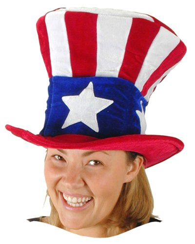 7525 7411 Uncle Sam Hat Deluxe
