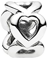 Pandora - 790454 - Drops Femme - Argent 925/1000 - Coeur