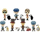 Professor Layton Prop Plus Petit Mini Figure Box of 8 Pc