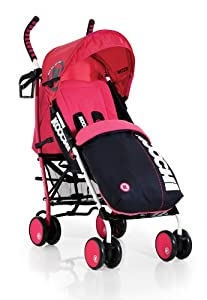 Koochi Speedstar Stroller (Mix Magenta)