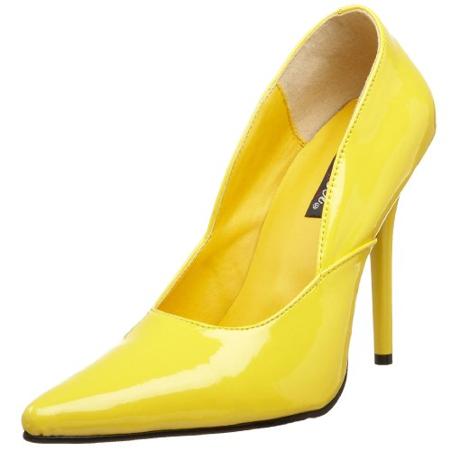 Pleaser, Sandali donna Yellow Pat 2 UK