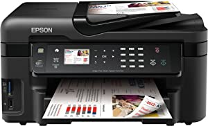 Epson WorkForce WF-3520DWF Multifunktionsgerät (Drucker, Scanner, Kopierer, Fax, WiFi, Ethernet, Duplex)