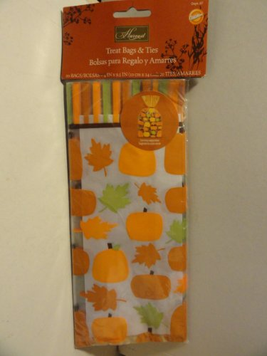 Harvest Treat Bags & Ties - 1