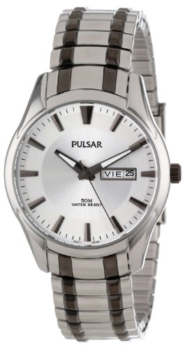 Pulsar Expansion Two-Tone Stainless Steel Men's watch #PJ6047