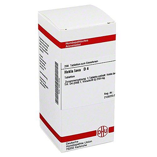 HEKLA Lava D 4 Tabletten 200 stk