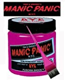 Manic Panic Hair Dye - Vegan Hair Dye - Fuschia Shock & Pink Tint Brush