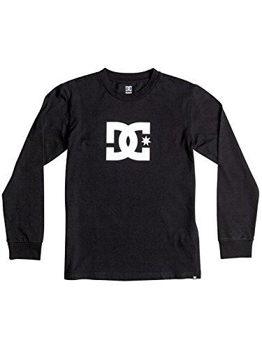 DC Shoes Star Boy-Maglietta a maniche lunghe per schermo, colore: nero, misura Small 16/X-Large