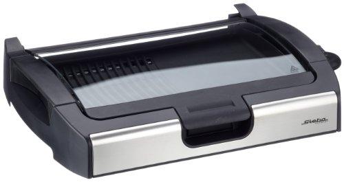 Steba-VG200-BBQ-Tischgrill-mit-Glasdeckel