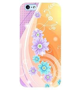 PRINTSWAG FLOWER PATTERN Designer Back Cover Case for Apple Iphone 6s