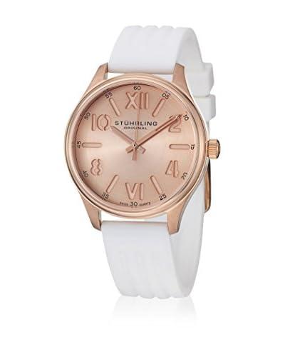 Stuhrling Original Reloj con movimiento cuarzo suizo Lady Variance Blanco 38 mm