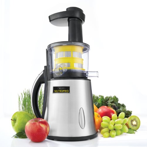NUTRIPRO<sup>&copy;</sup> Cold Press Juicer
