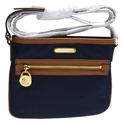 b429a96afb3e4b Michael Kors Kempton Navy Nylon Top Zip Crossbody Bag 32S3GKPC8C NEW:  Handbags: edpolicy.