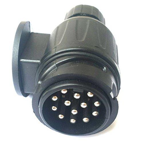 Stecker-fr-Anhngerkupplung-13-polig-ohne-Steckerhalter-schwarz