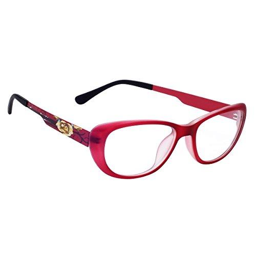 Hawai Attractive Maroon Eyeglass
