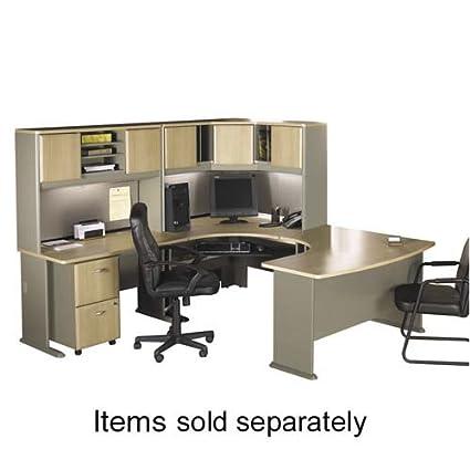 "o Bush Industries o - Advantage 72"" Desk, 71-1/2""x26-7/8""x29-7/8"", Dark Cherry"