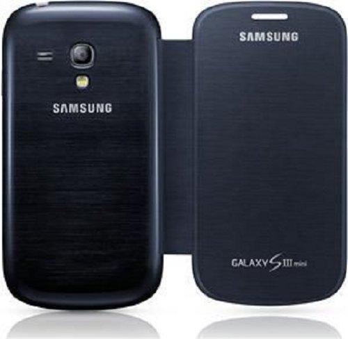 Samsung Original schützende Display-Klappe / Flip-Cover EFC-1M7FBEGSTD (kompatibel mit Galaxy S3 mini) in blue Rezessionen