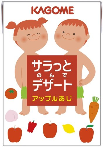Kagome Sarah gone and dessert Apple AJI 100ml×36 book