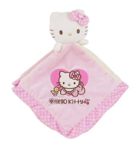 Hello Kitty Baby Security Blanket : Baby Flower