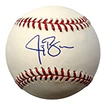 Autographed Jay Bruce MLB Baseball (MLB Authenticated)