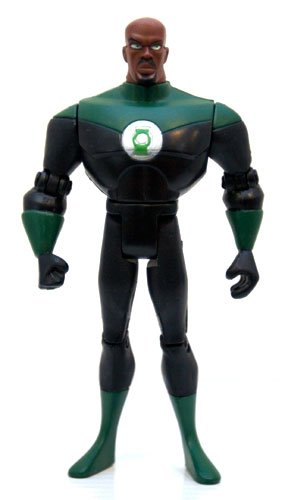 Justice League Unlimited Green Lantern 5 POA - 1