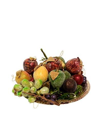 Uptown Down Decorative Platter of Fruit, Multi