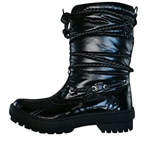 Sperry Top-Sider Women's Highland Snow Boot, Black, 7.5 M US