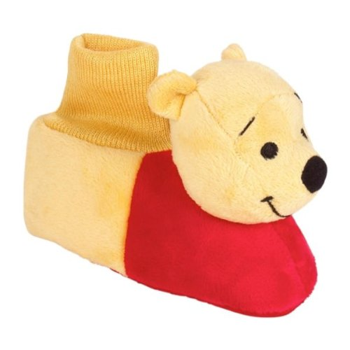 Cheap Disney Winnie the Pooh Plush Young Child Toddler Slippers Sizes 5/6-9/10 (B0076N4L1S)