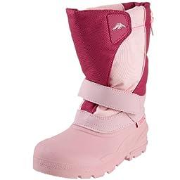Tundra Quebec Boot (Toddler/Little Kid/Big Kid),Pink/Fuschi,13 W US Little Kid