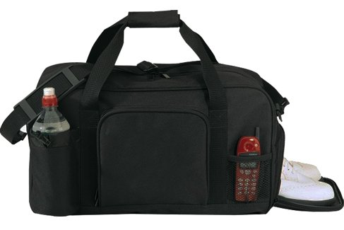 Ensign Peak – Gym Bag, Black