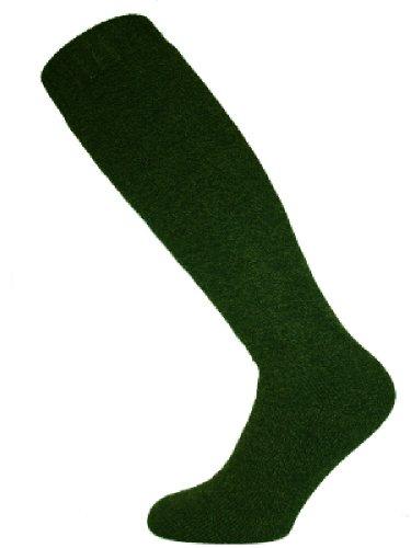 Mens Wellington Long Wool Boot Socks Size 611 Olive