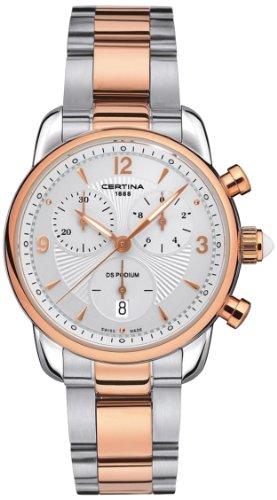 Damen-Armbanduhr XS Chronograph Quarz Edelstahl C025.217.22.017.00