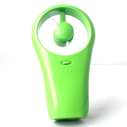 Green Hand-Held Mini Portable Super Mute Usb/Battery Cooling Fan For Outdoor Sport -Huahee