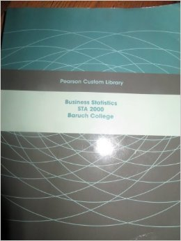 Business Statistics STA 2000 Baruch College
