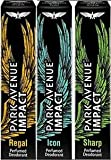 Park Avenue Impact Regal+Icon+Sharp perfumed body spray(pack of 3) (3*150)